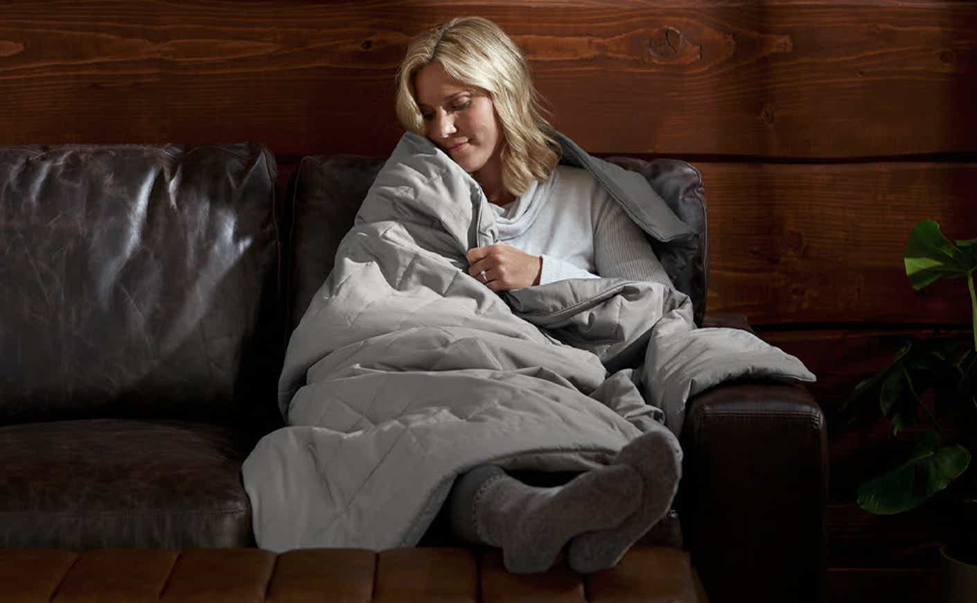 sleep number weighted blanket