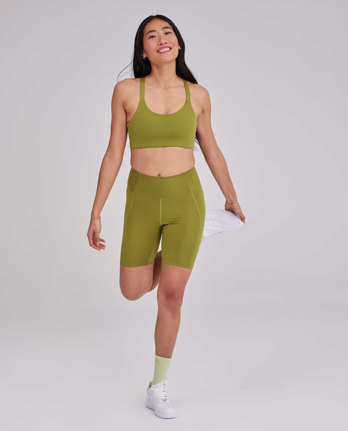 Outdoor Voices Ivy High-Rise Bike Short